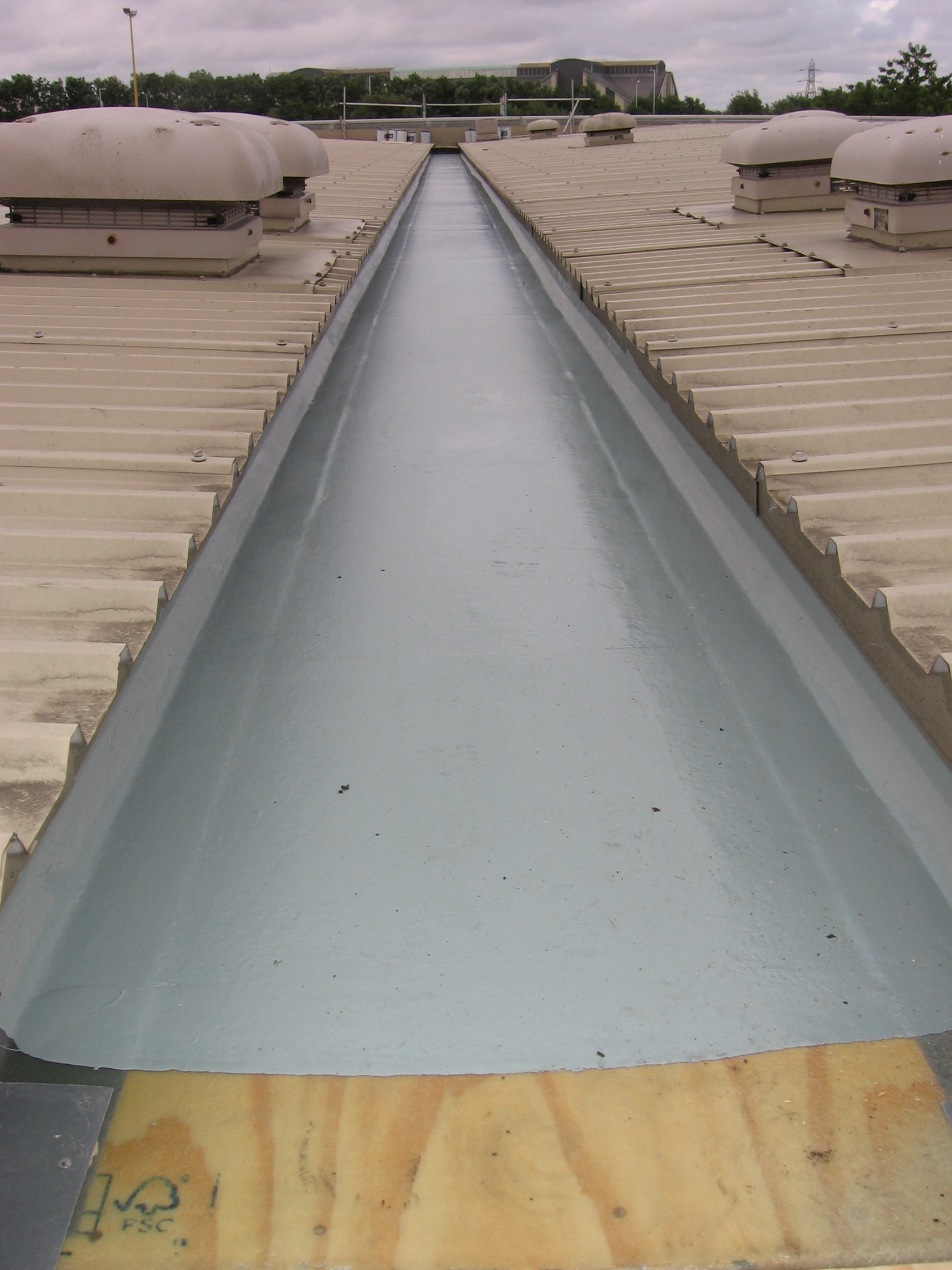 Industrial Roof Gutter Cleaning In The North West